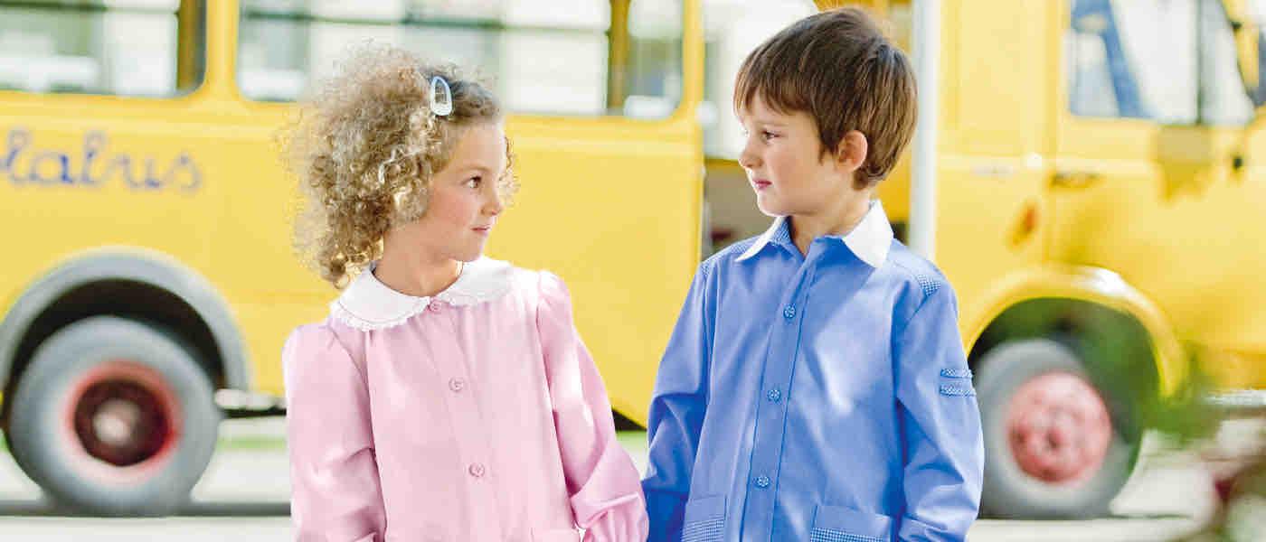 Grembiuli Asilo Prenatal.Camici Grembiulini E Abbigliamento Per La Scuola Siggi Group